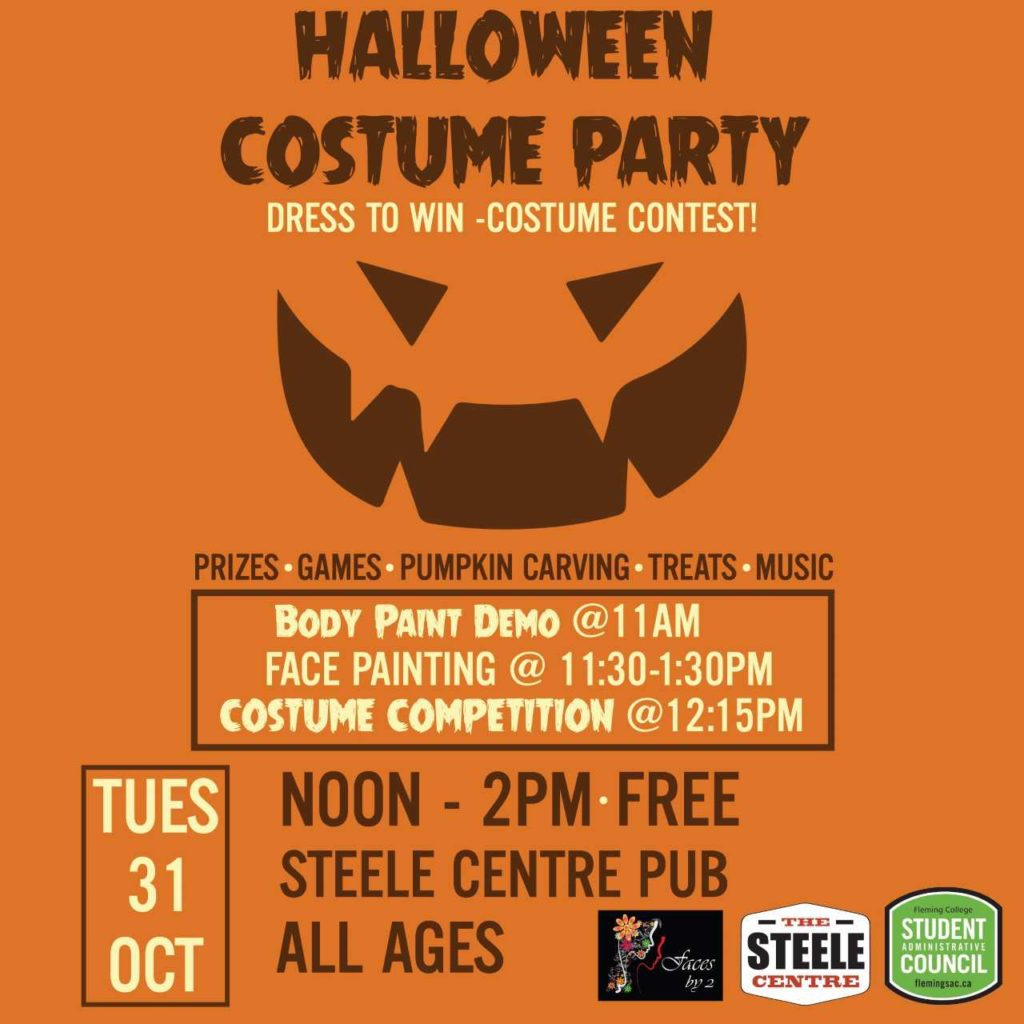 poster for Halloween Costume Party